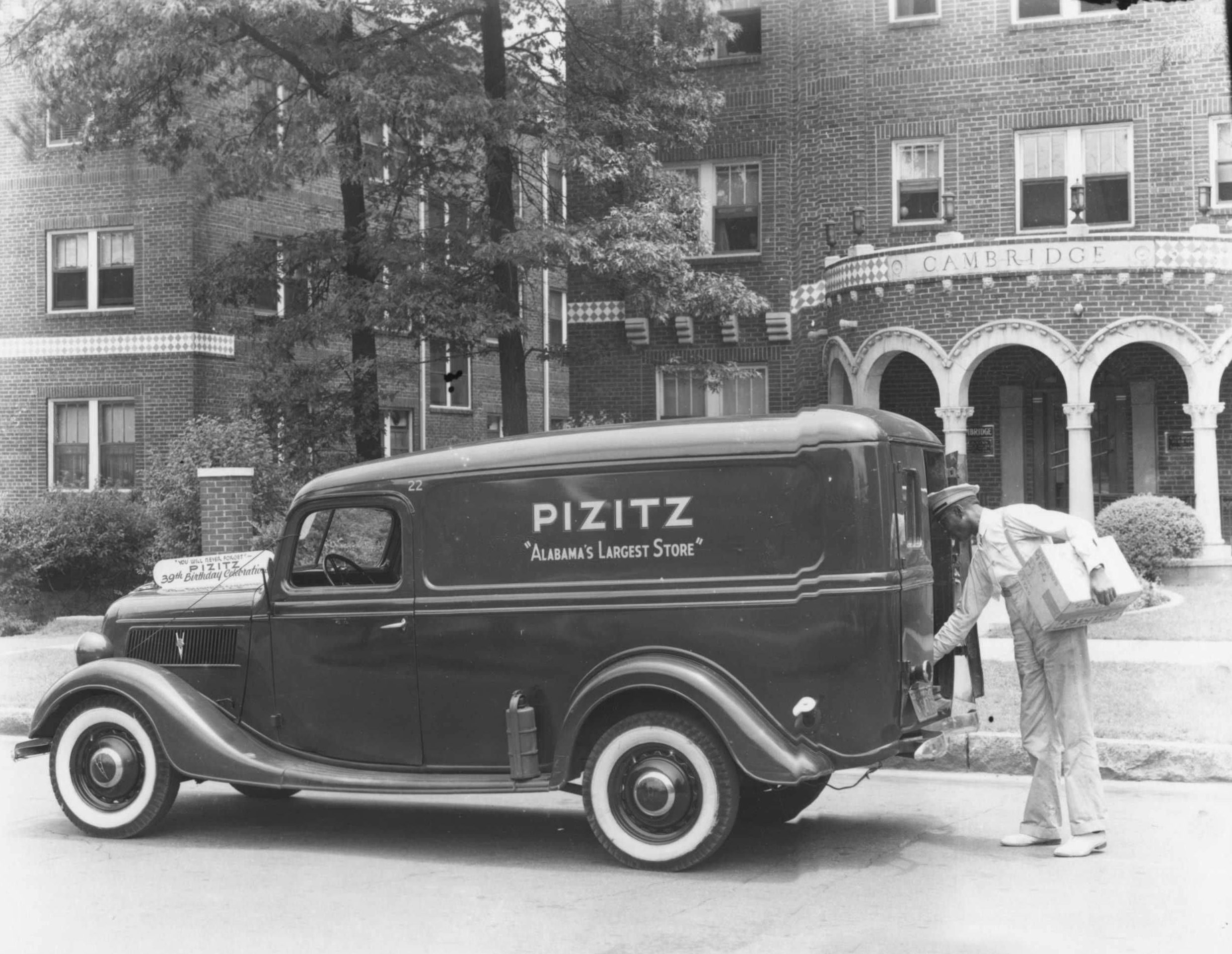 PATRON + Pizitz Department Stores – started by a man who arrived in America without a dollar in his pocket
