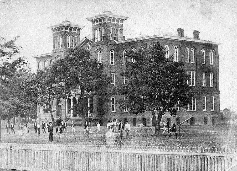 UPDATED WITH PODCAST Laying the cornerstone for the future Auburn University in 1857 was quite an occasion