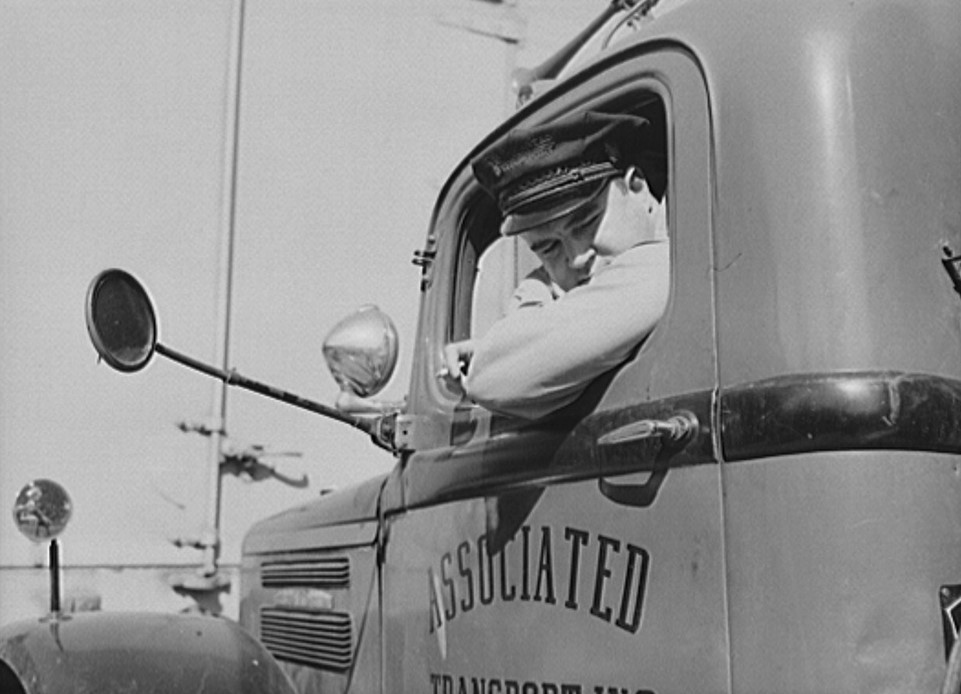 PATRON + Truck driving has come a long way since the days in this 1943 film