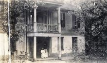Haunted mansion in Montgomery, Alabama – later a playground