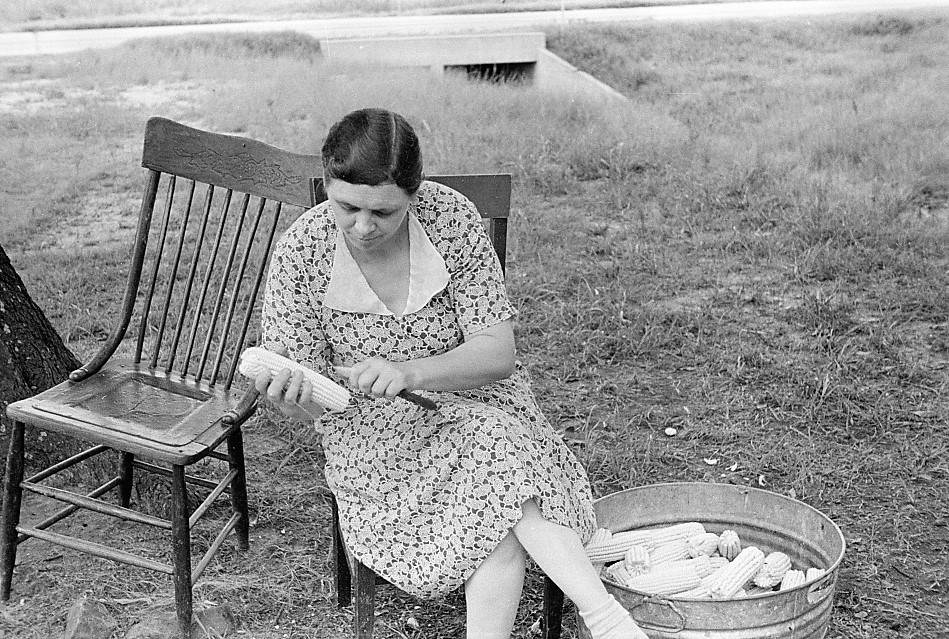 """PATRON + RECIPE WEDNESDAY: Corn """"A La Southern"""" 1924 Recipe"""