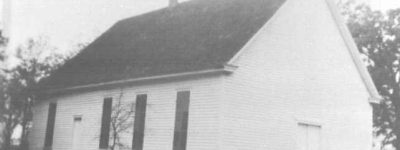 Only photo of 1836 Chambers County Courthouse was found in the cornerstone when opened in 2003