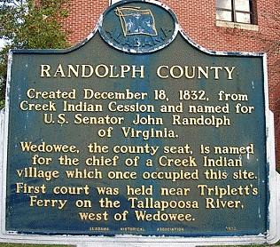 PATRON + The War reaches Randolph County, Alabama