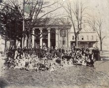 The Baptist church started Athens State University with a female academy in the early days of Alabama