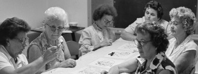 Quilting Parties - They were once an important party of an Alabama woman's life