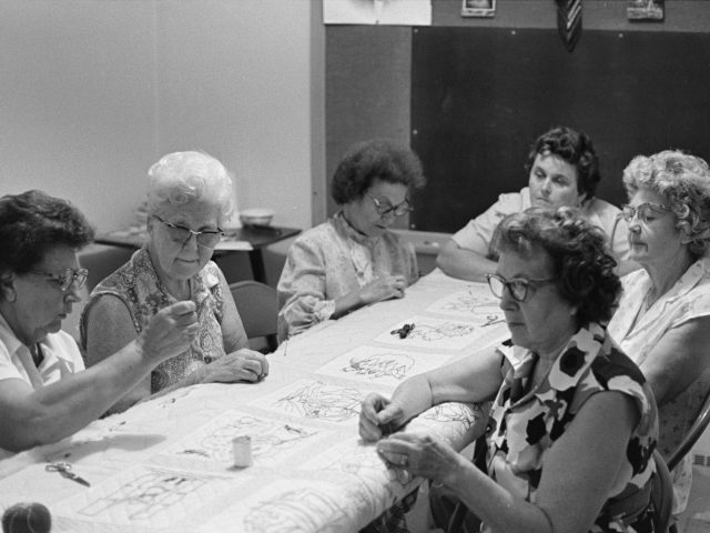 QUILTING PARTIES – They were once an important party of an Alabama woman's life