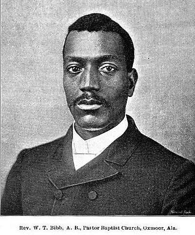BIOGRAPHY: Rev. Wh. T. Bibb – 1853