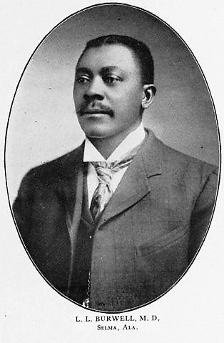 BIOGRAPHY: Dr. L. L. Burwell, October 25, 1867  African-American