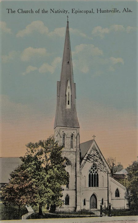 History of the Church of the Nativity, Episcopal, Huntsville, Alabama
