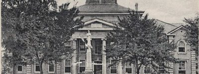 The Salem Baptist Church was part of the old Greensboro Courthouse