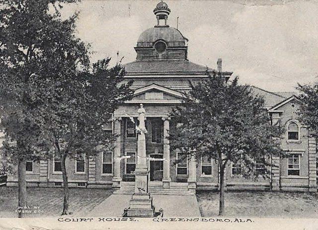 HunginEffigy in Greensboro, Alabama in 1843