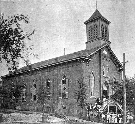 PATRON – Read about the beginning of Dexter Avenue Baptist Church in Montgomery, Alabama