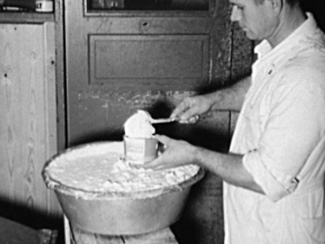 PATRON + RECIPE WEDNESDAY: Have you ever made homemade cottage cheese – see 1924 recipe