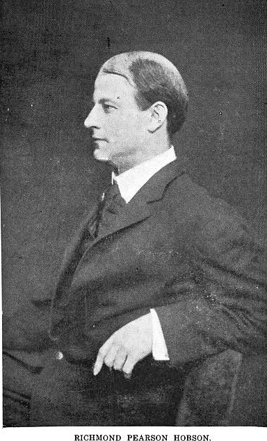 "A personal interview with Richard Pearson Hobson in 1908 from ""The Sinking of the Merrimac fame"""