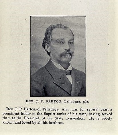 BIOGRAPHY: Rev. J. P. Barton born 1844