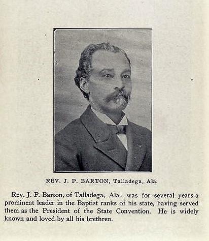 BIOGRAPHY: Rev. J. P. Barton born 1844