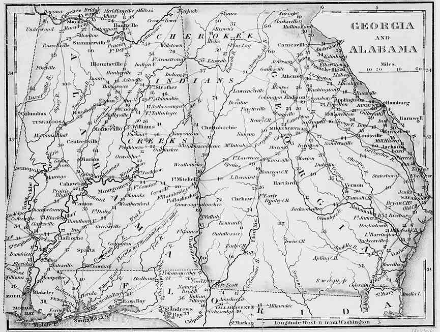 Indian Trails and Early Roads in Alabama – story written in ...