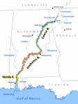 Down the Alabama River – Day Six  on August 16, 1814
