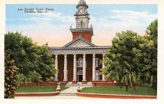 The early days of Lee County created on Dec. 15 – Home county of Auburn University