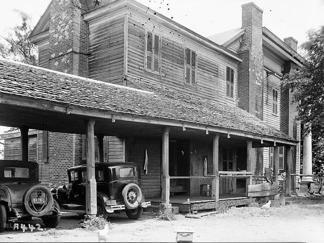 MOUNT IDA, Talladega, Alabama – home used in Birth of a Nation