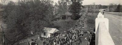 PATRON + John T. Milner Bridge - dedication of bridge in 1929