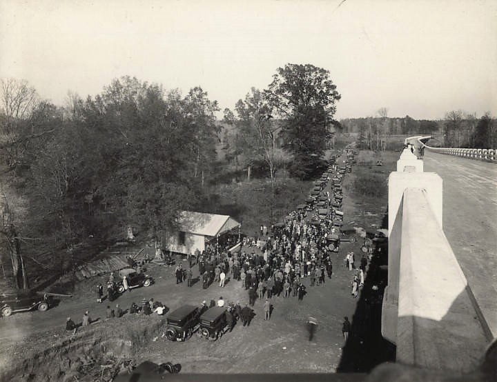 John T. Milner Bridge – dedication of bridge in 1929