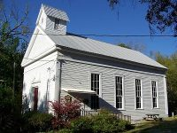 Daphne Methodist Church, oldest on Eastern Shore of Mobile Bay
