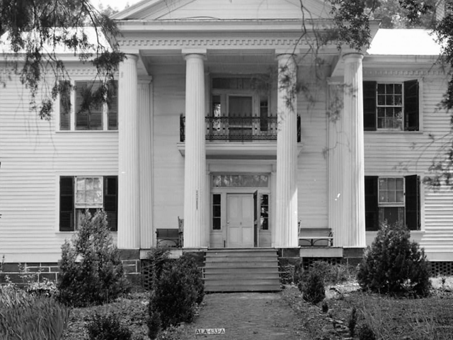 Alpine Plantation, beautiful home built in 1858 in Talladega County, Alabama