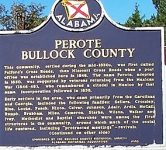 There were many doctors in early days of the town of Perote in Bullock County