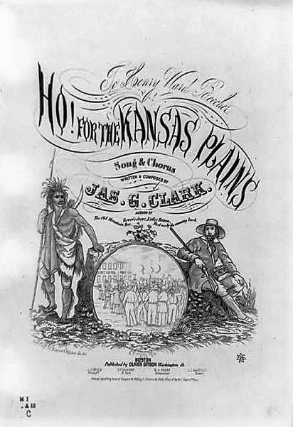 The migration of 400 men from the South to Kansas in 1855 – Part III