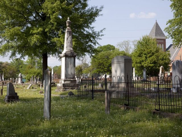 Greenwood Cemetery inscriptions, includes many Alabama pioneers