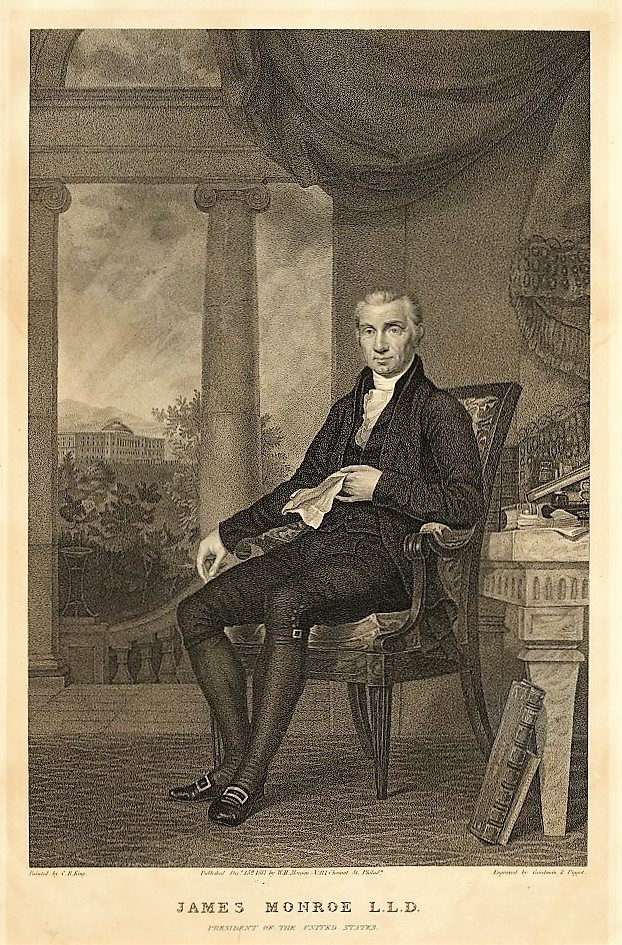 On June 1, 1819, President Monroe surprised Huntsville ...