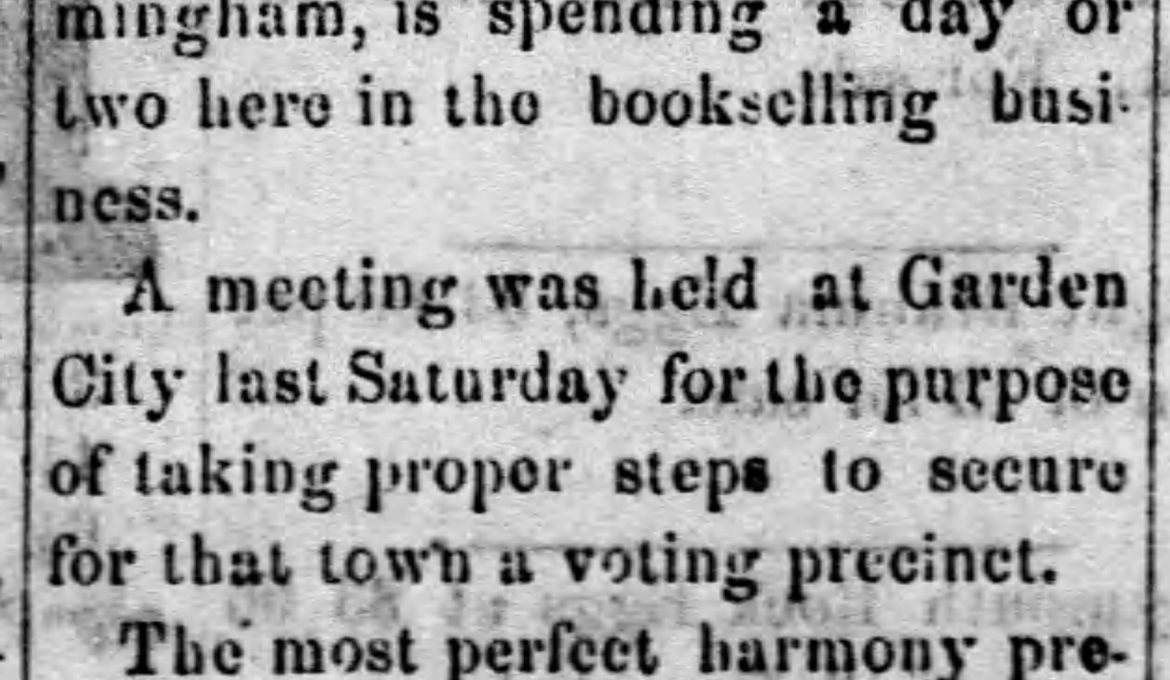 PATRON – 1877 – 1879 Notes from News clippings