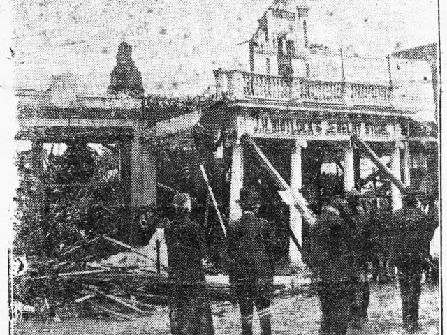 Eufaula, phoenix like, rose again with renewed vigor from the ruins of a tornado in March 1919