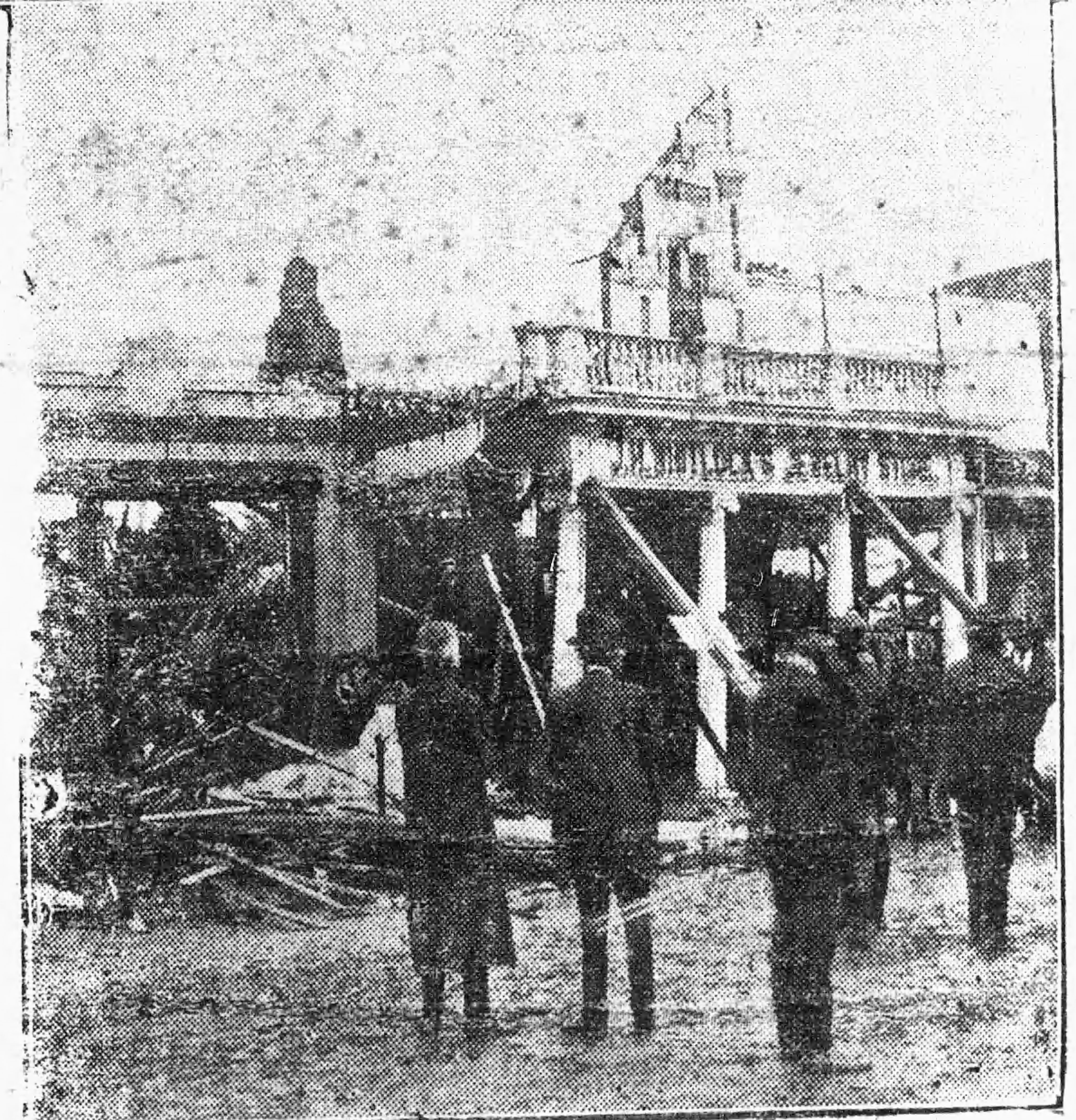 Eufaula, phoenix-like, rose again with renewed vigor from the ruins of a tornado in March 1919