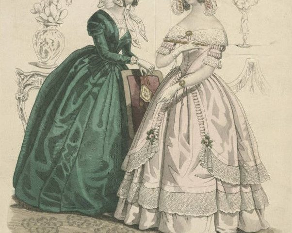 Patron+ GOOD OLE DAYS – the use of Ladies' visiting cards