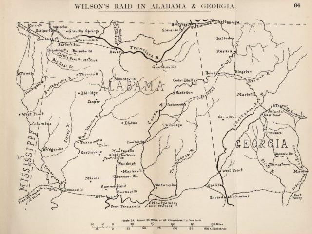 To Tuscaloosa and Beyond: A Union Cavalry raider in Alabama, March-April 1865