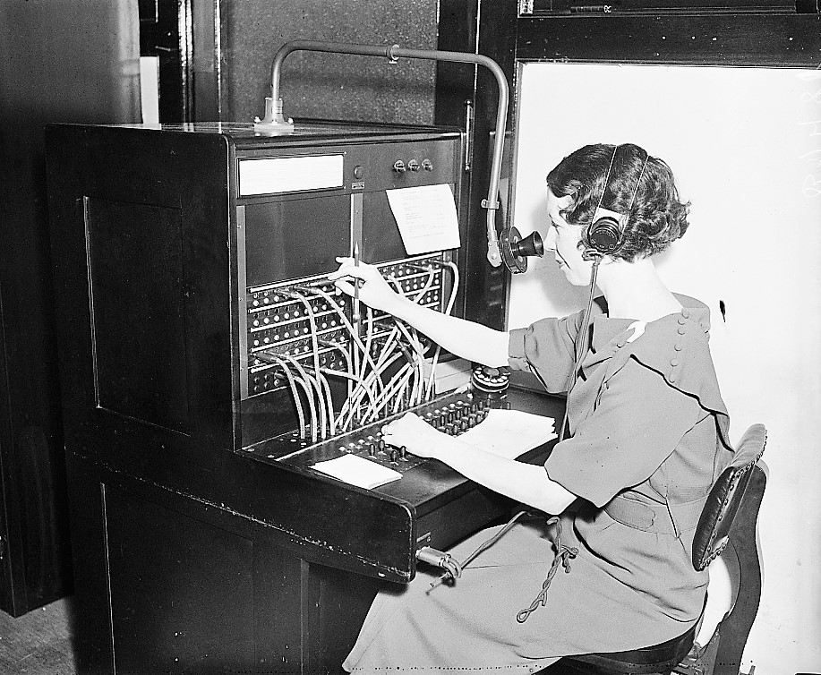 UPDATED WITH PODCAST -The life of a Telephone operator and executive in Eufaula in 1939