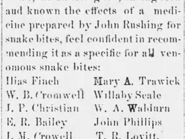 Shelby County, Alabama Oct. 2, 1884 -Ads and Jurors for the Fall Term of the Circuit Court