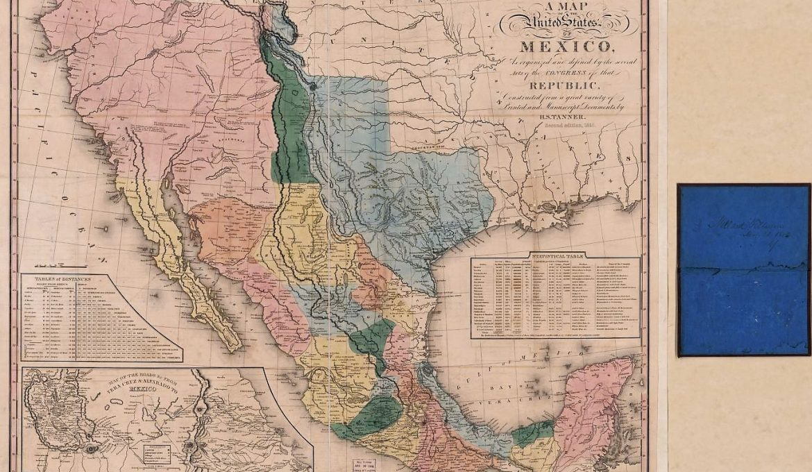 Patron+ Part 4 Alabama in Mexico War – personal letter about