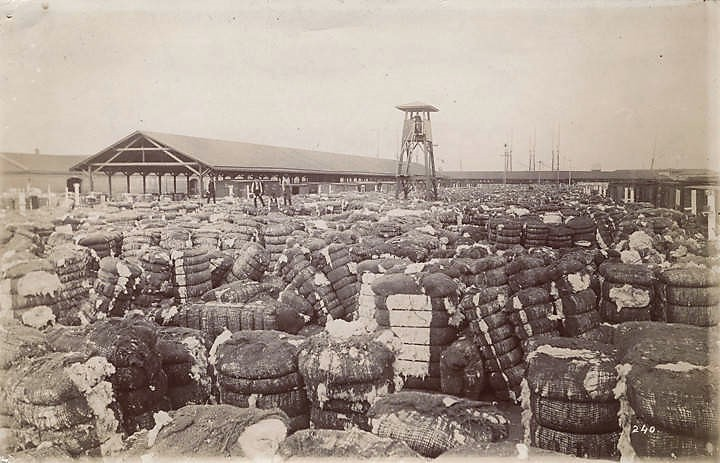 Anniston, Calhoun County, Alabama shipped cotton goods to China in 1883