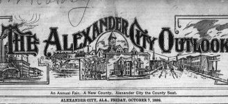 Patron – News notes Transcribed From The Alexander Outlook, Alexander City, Alabama, Oct 7, 1892, reveal much about the people