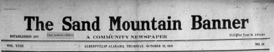 Patron – Is your Albertville, Alabama ancestor mentioned in this newspaper from October 23, 1919