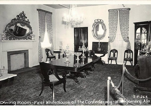 History of the Confederate White House in Montgomery, Alabama