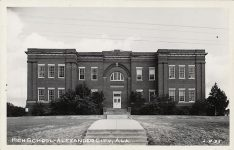 Alexander City, Alabama – Something of the town we live in – written in 1892