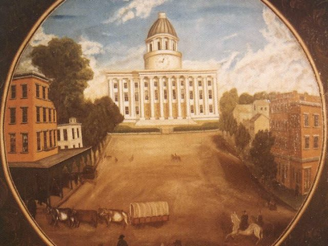 Patron+ Simpson Manuscript – Moving details about the State of Alabama's government moving to Montgomery