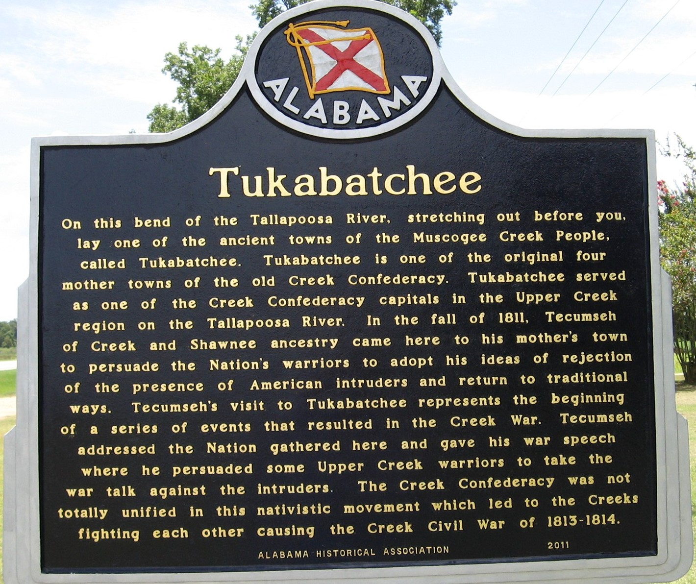 PATRON + Tuckabatchee and Tallassee were once two rival, thriving towns on the Tallapoosa River