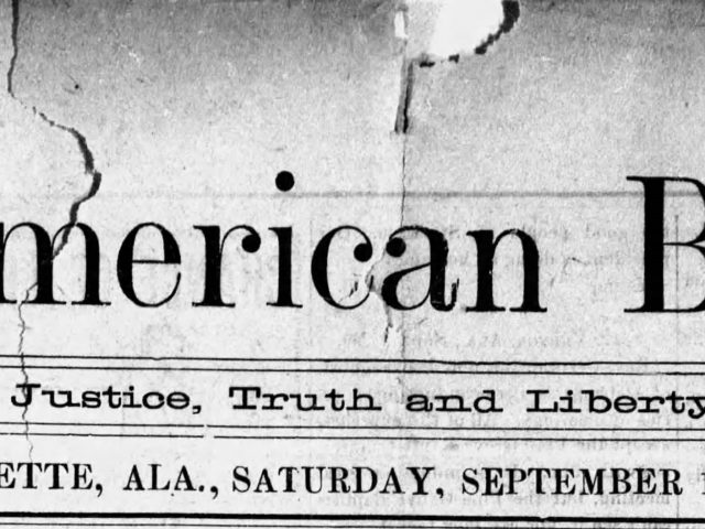 PATRON – Local news from The American Banner (Bay Minette, Alabama, September 16, 1899