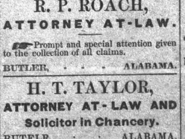 PATRON – Choctaw County Personal News – measles were prevalent in 1890