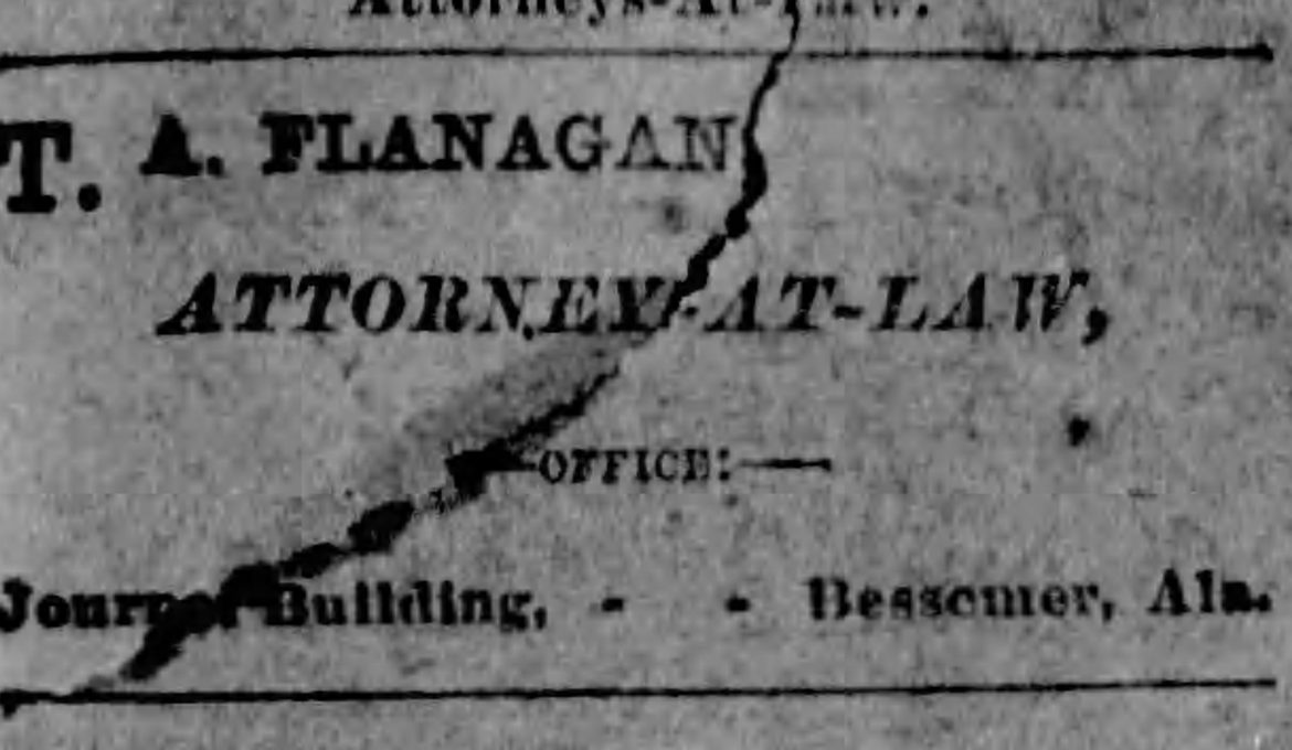 PATRON – German must have had an additional meaning in Bessemer in 1888 according to this news article